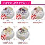 【悲報】ごちうさケーキ、一人だけ売れ残る・・・
