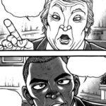 【画像】刃牙道、早くも新大統領をネタにするwwwwwwwwww