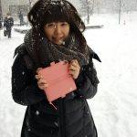【画像】声優・竹達彩奈さんに雪がまみれる