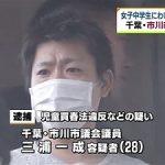 【悲報】アイマス好きで有名な三浦市議会議員が女子中学生にわいせつな行為をしたとして逮捕